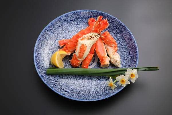Comment dish king crab