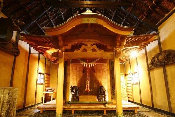 Thatched private house Kimura my wife doctor hallowed place
